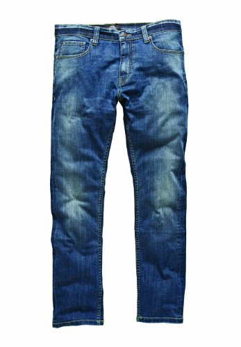 Dickies - Louisiana, Blu Uomo, Blu (Stonewash), (Taglia Produttore: 32/32)