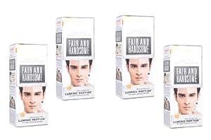 Emami Ayurvedic Fair & Handsome Fairness Cream for Men (Pack of 4)