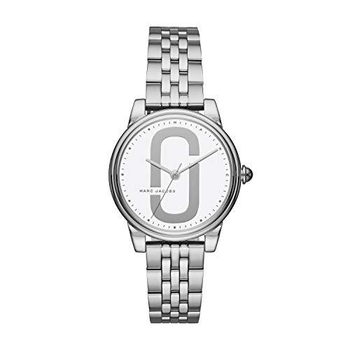Marc Jacobs Damen-Uhren Analog Quarz One Size Edelstahl 87315029