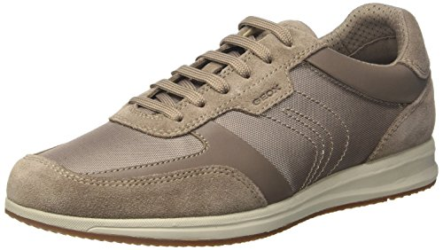 Geox U Avery B, Sneakers Basses Homme, Gris (Taupe), 40 EU