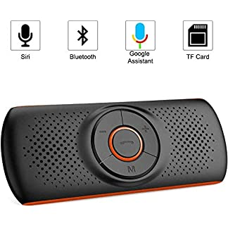 NETVIP-Kfz-Bluetooth-Freisprecheinrichtung-Bluetooth-Auto-Freisprecheinrichtung-Visier-Car-Kit-Mit-DSP-Technologie-Untersttzt-GPSMusikHandsfree-fr-2-Telefone-Gleichzeitig
