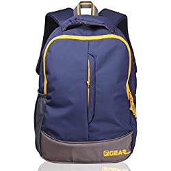 F Gear Ferrari 21 Ltrs Navy Blue Casual Backpack (2271)