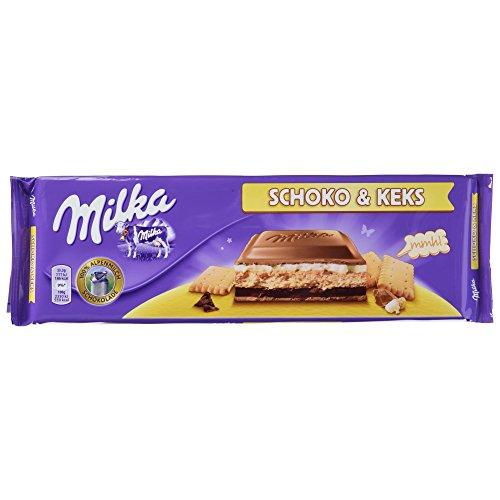 Preisvergleich Produktbild Milka Schoko und Keks,  4er Pack (4 x 300 g)