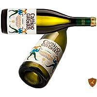 CAMINO DE CABRAS vino blanco Godello D.O.Valdeorras, pack 2 botellas de vino, total