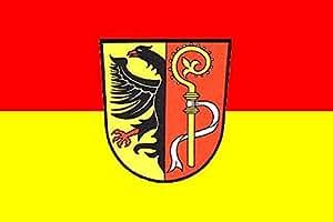 U24 Fahne Flagge Landkreis Biberach 90 x 150 cm
