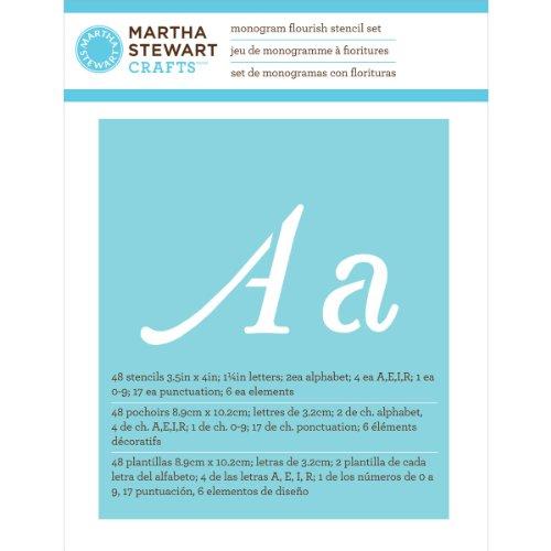 plaid-craft-martha-stewart-grandes-plantillas-del-alfabeto-48-pkg-monogram-diseno-de-hojas-tamano-de