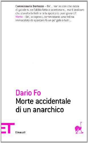 Morte accidentale di un anarchico (Einaudi tascabili. Poesia)