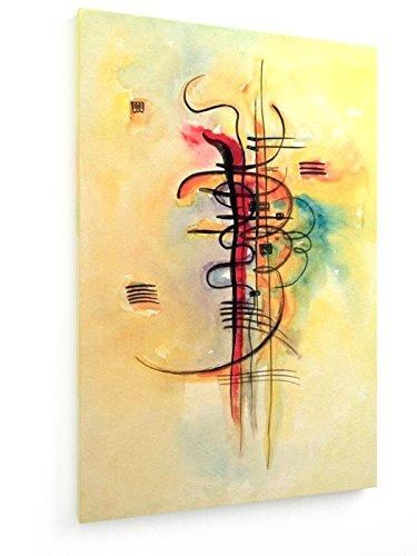 Wassily Kandinsky - Aquarell Nr. 326 - 40x60 cm - Textil-Leinwandbild auf Keilrahmen - Wand-Bild - Kunst, Gemälde, Foto, Bild auf Leinwand - Alte Meister / Museum