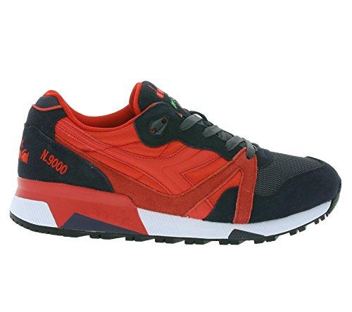 Diadora N9000 Nyl Ii, Chaussures mixte adulte Rouge