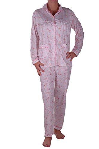 EyeCatch - Pyjama ensemble T shirt et pantalon - Gemini - Femme Rose Clair