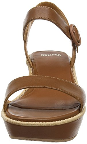 CAMPER Damen Damas Plateau Braun (Medium Brown)