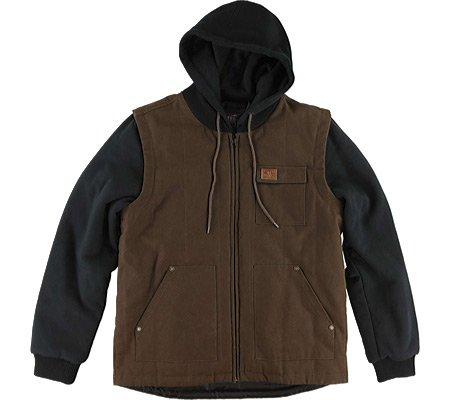 Metal Mulisha Calibre Jacket Men Workwear Brown