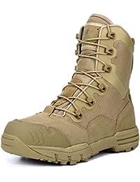 wthfwm Ejército, Patrulla Militar, Botas de Combate de Cuero del Desierto, cadete Exterior