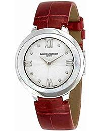 Baume & Mercier Promesse Reloj de mujer diamante cuarzo suizo 34.4mm 10262
