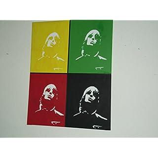 Liam Gallagher, Oasis, handbemalte Leinwand 20x 16Ins,, Pop Art
