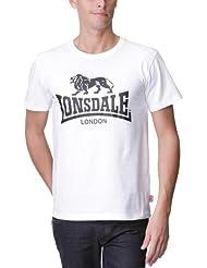 Lonsdale Logo - Camiseta de manga corta para hombre