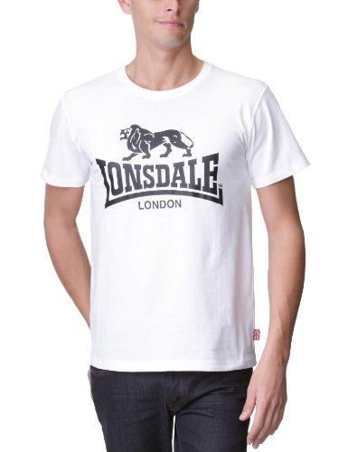 Lonsdale Herren Sport Shorts T-Shirt Promo, weiß, X-Large Preisvergleich