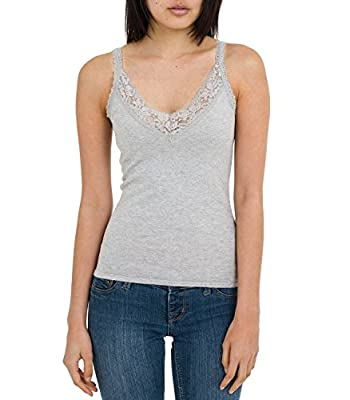 Wool Overs Women's Silk & Cotton Camisole Top