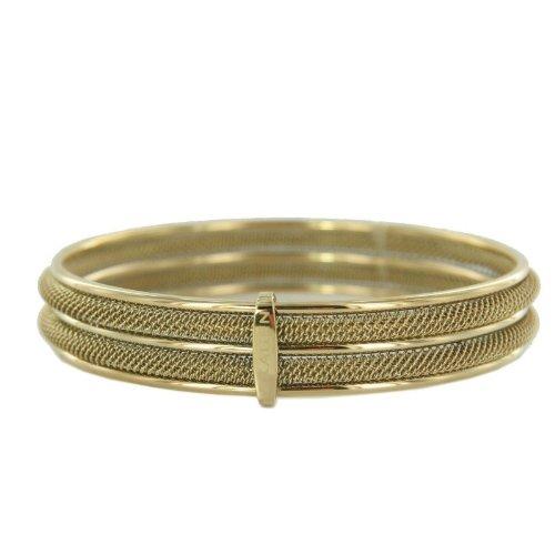 Skagen Damen Armreif Armband Milanaiseband gold JGSG029M