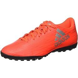 adidas X 16.4 TF, Scarpe da Calcio Uomo, Multicolore (SOLRED/SILVMT/HIRERE), 40 2/3 EU