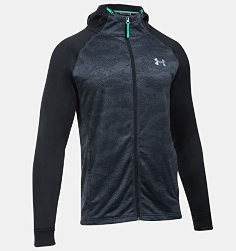 under-armour-2017-coldgear-tech-terry-fitted-fz-hoody-pullover-mens-sports-hoodie-stealth-gray-xl