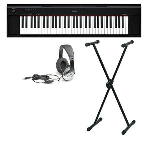 Yamaha NP-12 Set mit Ständer und Kopfhörer
