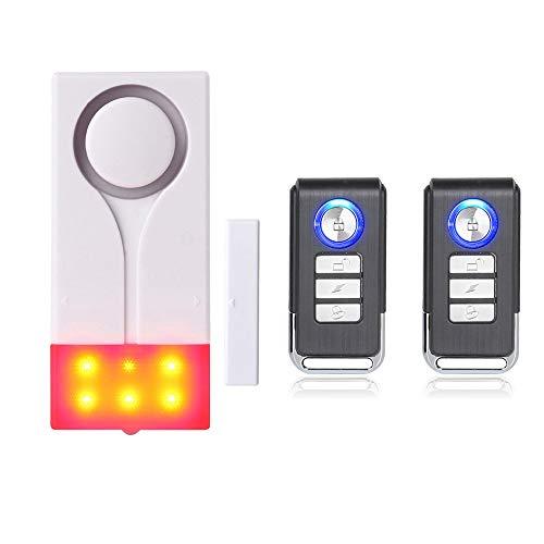 Mengshen Alarma de Alarma de Alarma de luz inalámbrica de Alarma magn
