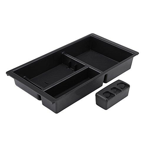 Qiilu QL05798 Vano portaoggetti centrale per console organizer (Chevrolet Silverado Box)