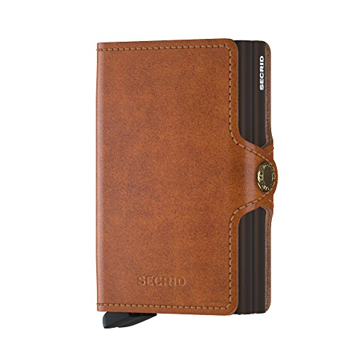 Secrid Wallets Twinwallet Original 10 cm cognac-brown