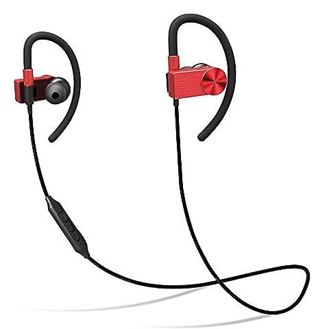Wireless Sport-Kopfhörer, Riversong Bluetooth 4.1 Sport Stereo In Ohr Ohrhörer mit Mikrofon, magnetische Headset für iPhone 7 Plus/7, Samsung Galaxy S6 S5 S4, IOS & Android Smartphones