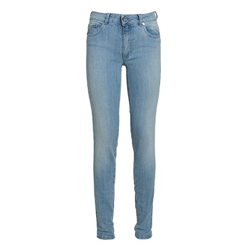 Blugirl folies Damen Pantaloni Jeans Slim Blau (Fantasia Blu), 25