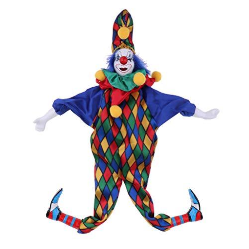D DOLITY Mini Halloween Clown Puppe Kostüm Puppen -