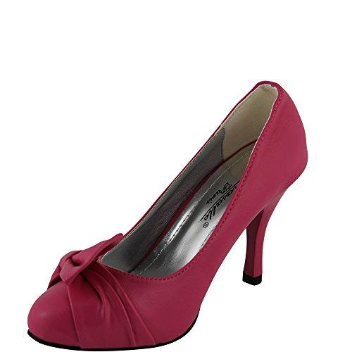 Unbekannt, Scarpe col tacco donna 36 Pink
