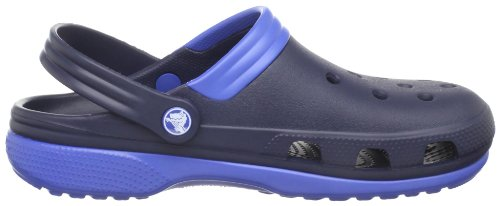 Crocs Duet, Sabots mixte adulte Bleu (Navy/Sea Blue)