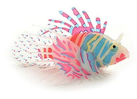 Blue Vessel Aquarium Supplies Kunststoff Fische Aquarium Fisch Tank Dekorieren Fisch Künstlich Dekoration für Aquarium Schwimmen Fisch (Mehrfarbig 3)
