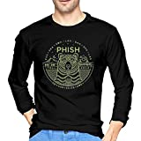 Photo de CCGTQ Phish Steely Men's Long Vintage Sleeve Black T-Shirts par CCGTQ