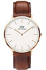 Idea Regalo - Daniel Wellington analogico Quarzo Orologio da Polso 0106DW