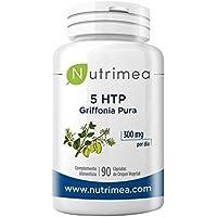 5HTP Triptofano Extracto Semilla de Griffonia Simplicifolia 300mg por dia 5 HTP Aminoacido Mejora el Sueño