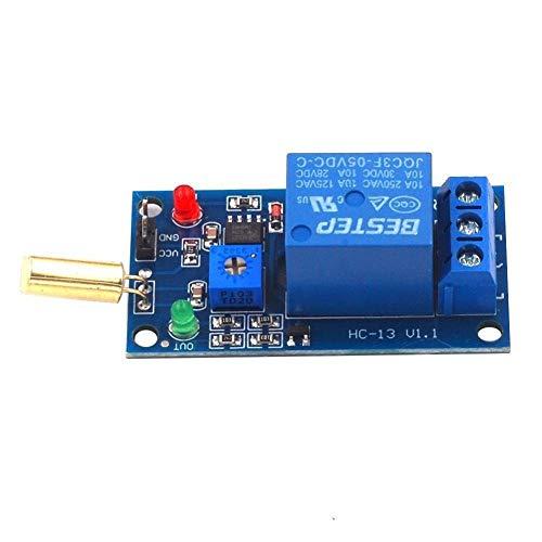 YJIA 5V SW 520 Modulo sensore Relè Tilt Attrezzatura Tilt Dump Protezione Allarme Modulo di esperimento scientifico (Taglia : 5v)