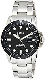 Fossil Mens Quartz Watch, Analog Display and Stainless Steel Strap FS5652