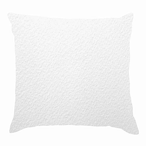 """Watercolor Paper Texture The artsThrow Pillow Covers Cotton Linen Cushion Cover Cases Pillowcases Sofa Home Decor 18""""x 18""""Inch (45 x 45cm)"""