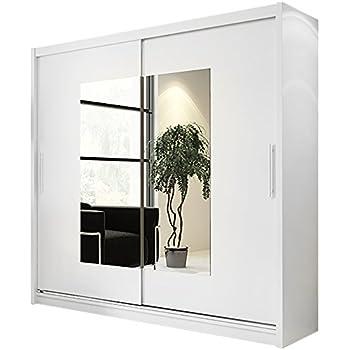 Led Beleuchtung Mit Spiegel Breite 220 Cm Schwebetürenschrank Ar14