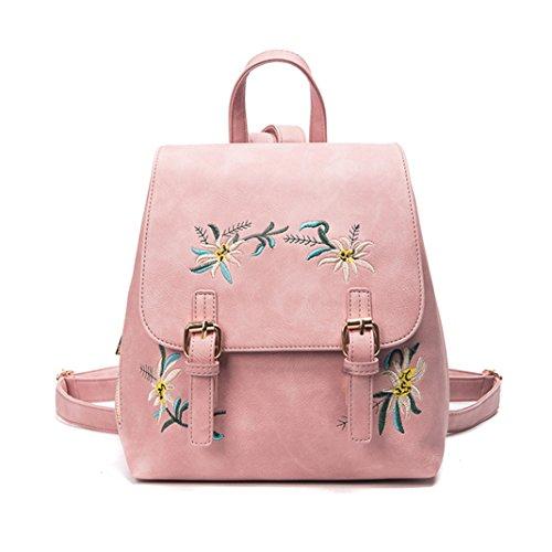 ZHOUBA, Borsa a zainetto donna, Pink (rosa) - FR17150311LTR5527 Pink