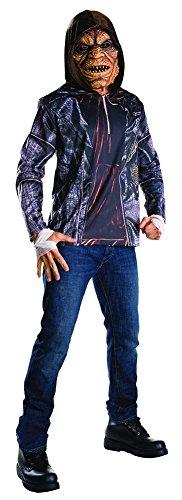 Preisvergleich Produktbild Killer Croc Kostüm mit Maske Suicide Squad Einheitsgröße