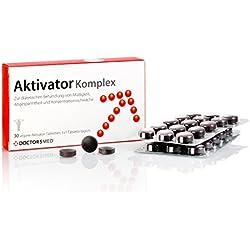 Aktivator Komplex von DoctorsMed I Natürlicher Booster für mehr Energie Tabletten gegen Müdigkeit I Gedächtnis Nahrungsergänzung I 30 vegane Tabletten Vitamin und Nährstoffe