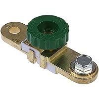 Interruptor de la bateria - SODIAL(R)Interruptor de la bateria enlace conmutador Desconectar de corte rapidamente Coche Camion Piezas de vehiculos Verde (interruptor de la bateria 1)