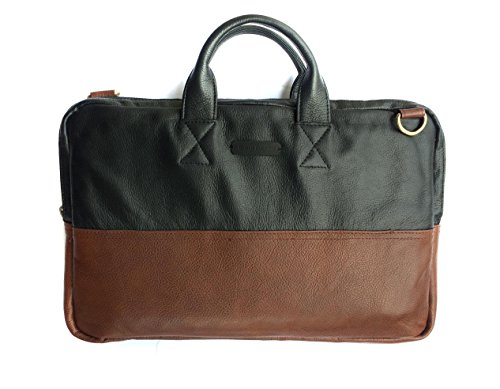 Chalk Factory Leather Office Bag with Padding Custom Made for ASUS x555lj-xx130d Laptop #HNDL, BROWN  available at amazon for Rs.4004