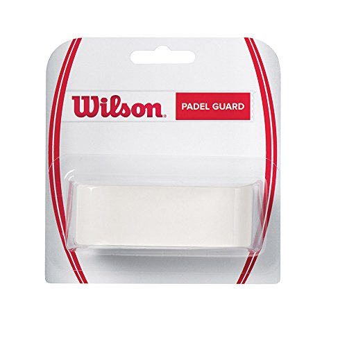 Wilson Cinta adhesiva Protector de pala de pádel, transparente, 3.3 x 41 cm, para proteger cont