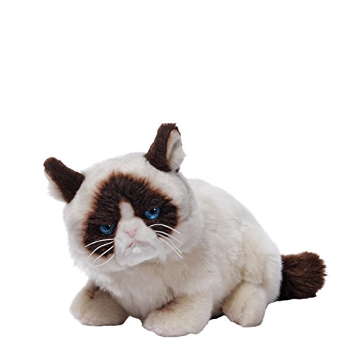 GUND Laying Down Grumpy Cat Plush Toy