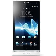 "Sony Xperia S - Smartphone libre Android (pantalla táctil de 4,3"" 1280 x 720, procesador de 1500 MHz) color blanco [Importado de Alemania]"